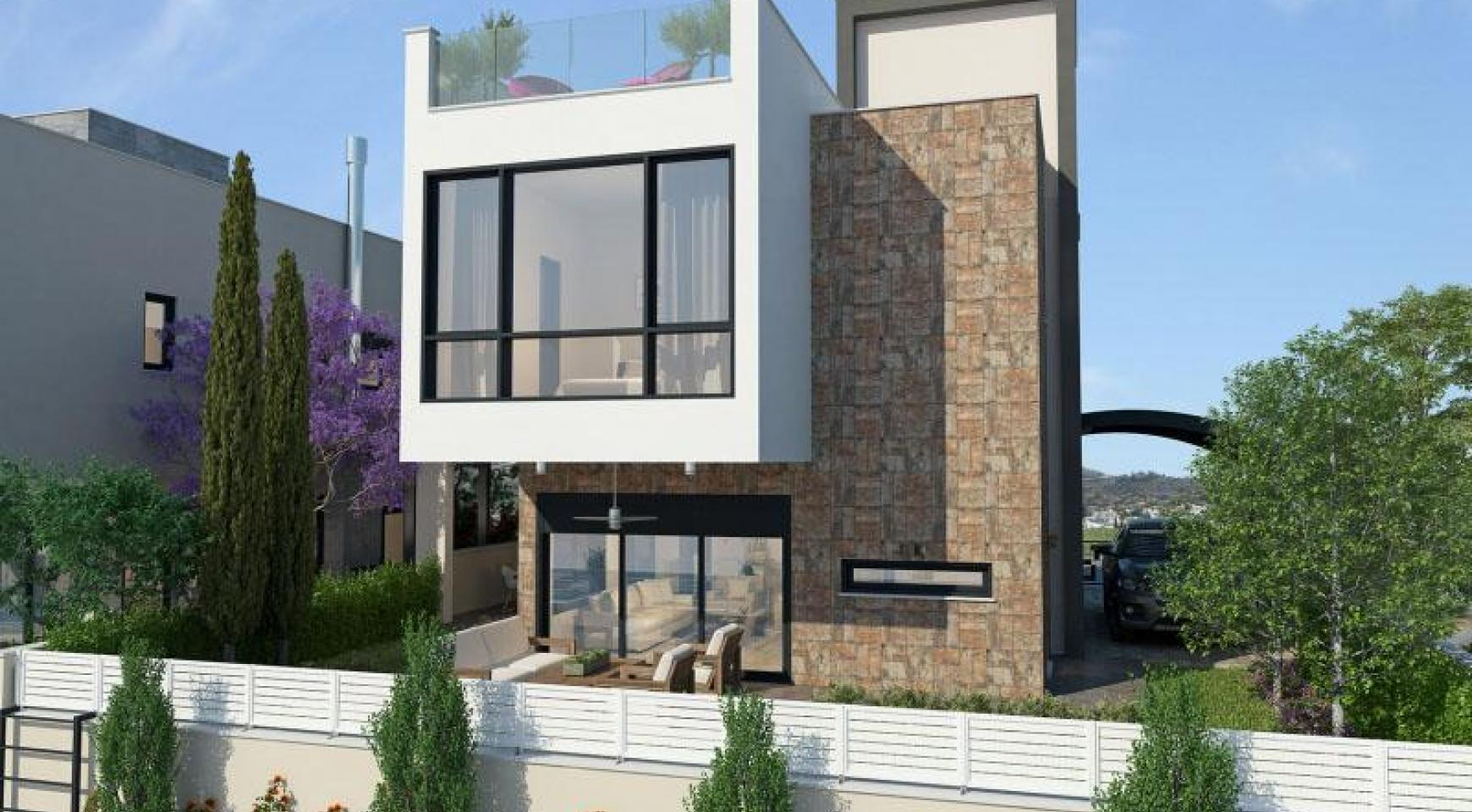 New Modern 4 Bedroom Villa near the Sea - 2