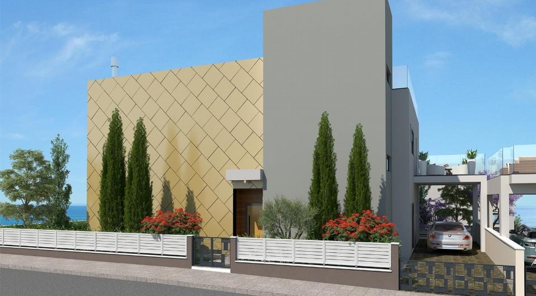 New Modern Spacious 5 Bedroom Villa near the Sea - 3