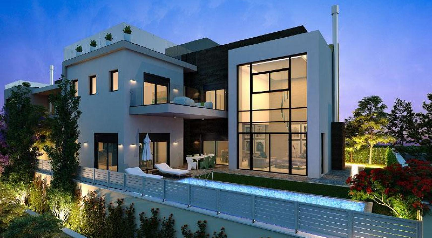 New Modern Spacious 5 Bedroom Villa near the Sea - 2