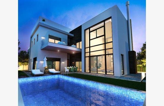 New Modern Spacious 5 Bedroom Villa near the Sea