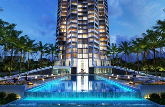 Sky Tower. Spacious Modern One Bedroom Apartment