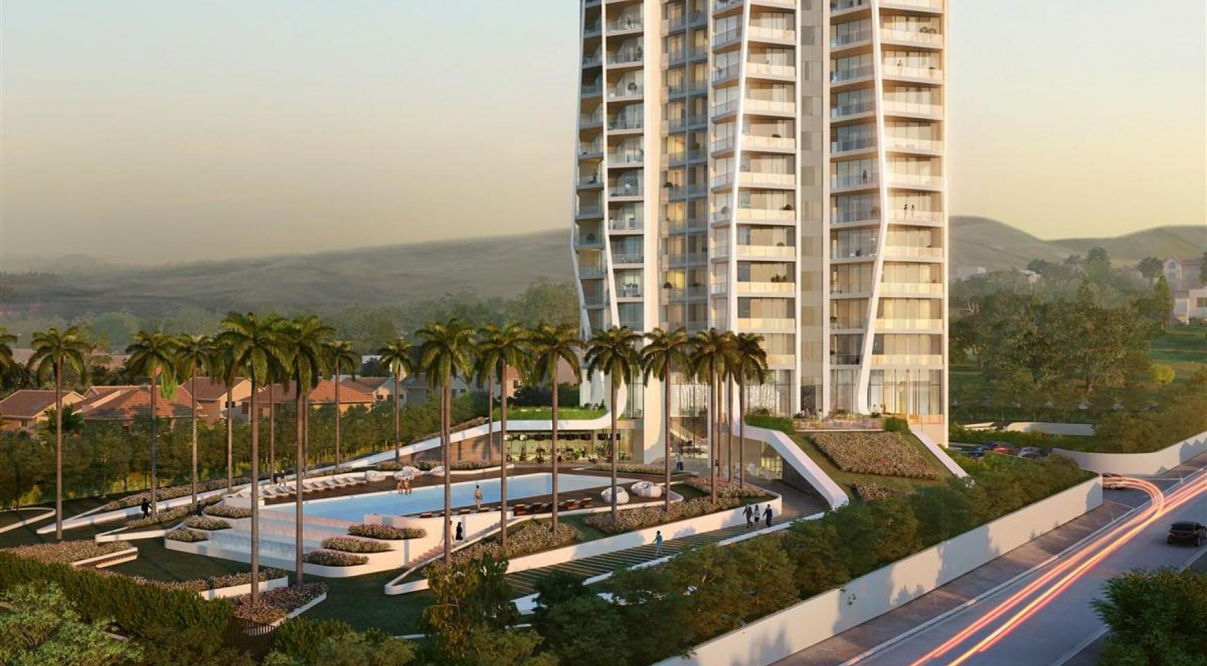 Sky Tower. New Contemporary 2 Bedroom Apartment - 5