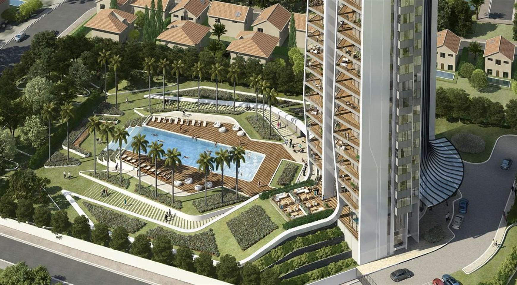 Sky Tower. New Contemporary 2 Bedroom Apartment - 8