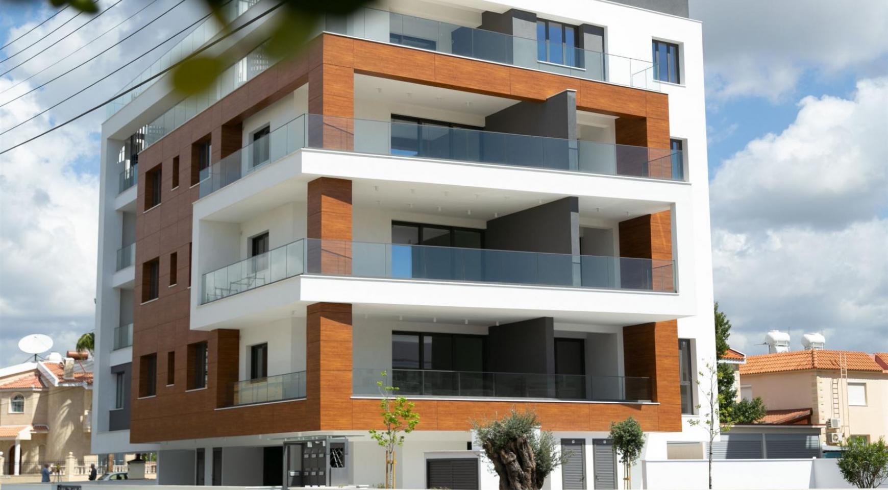 Malibu Residence. Modern One Bedroom Apartment 101 in Potamos Germasogeia - 1