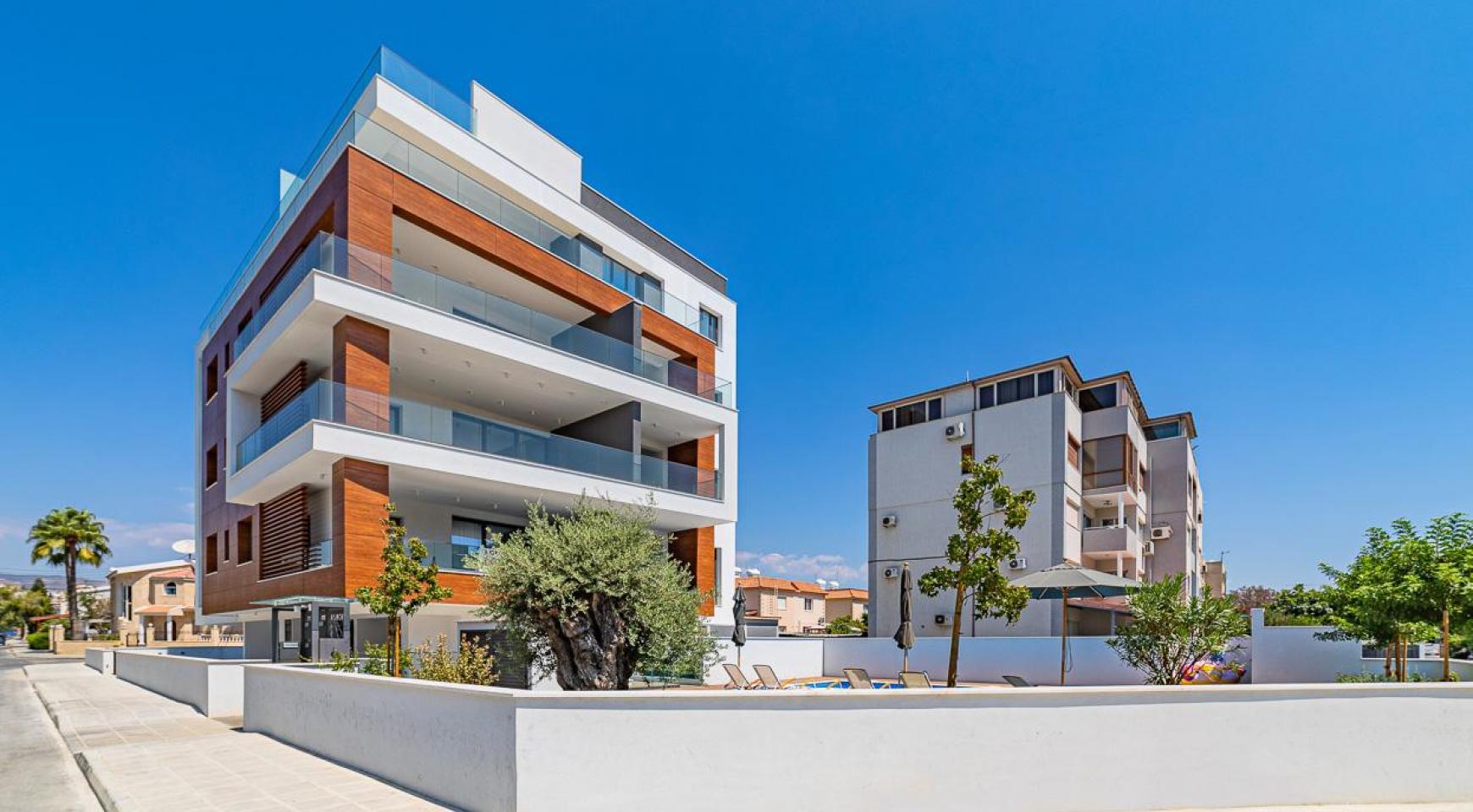 Malibu Residence. Modern One Bedroom Apartment 101 in Potamos Germasogeia - 6
