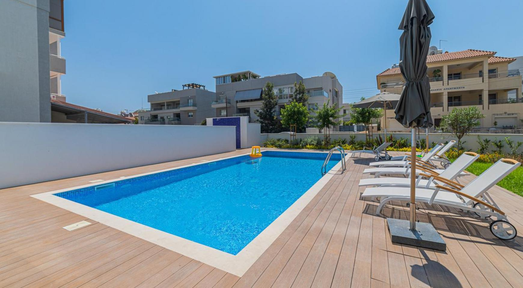 Malibu Residence. Modern One Bedroom Apartment 101 in Potamos Germasogeia - 43