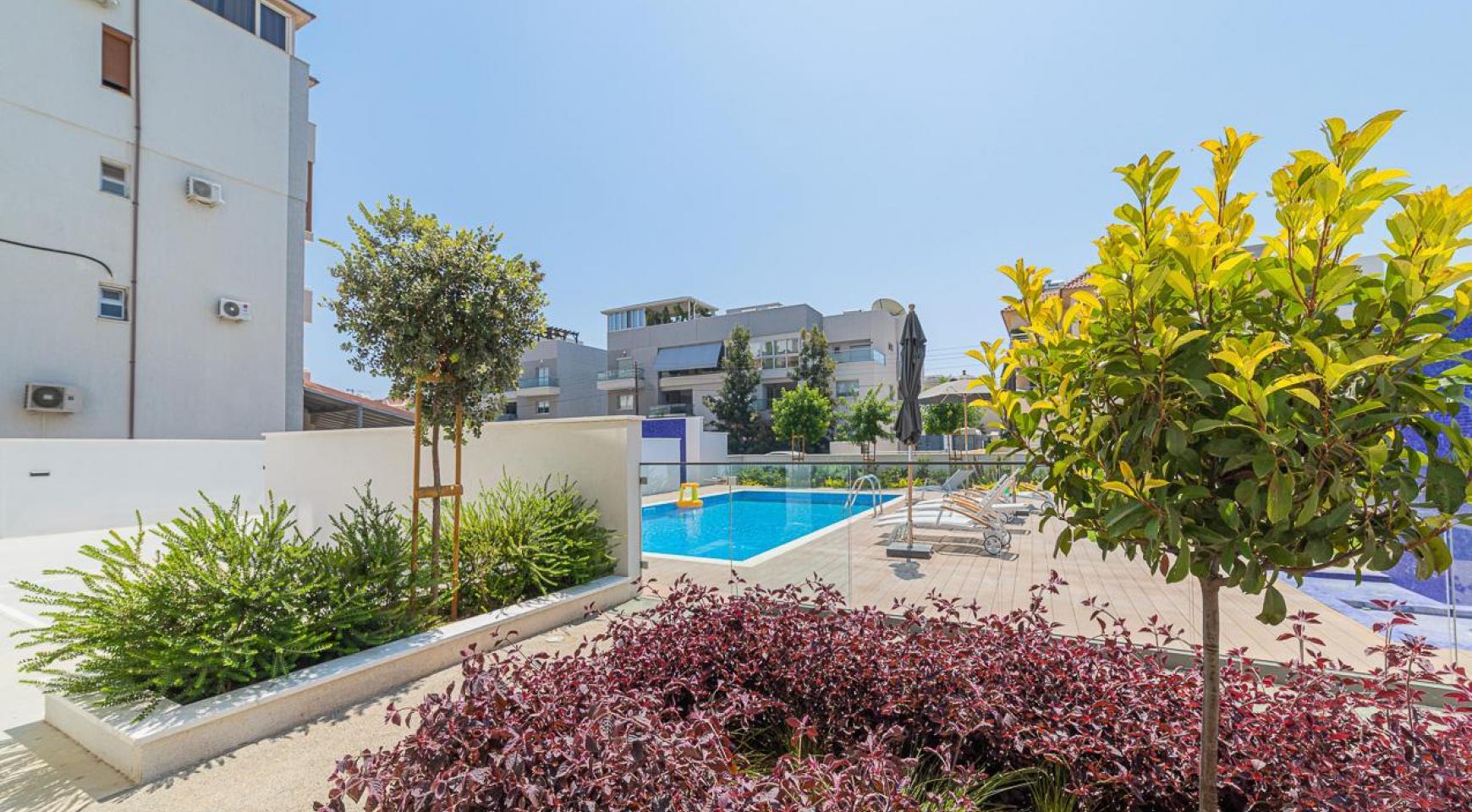 Malibu Residence. Modern One Bedroom Apartment 101 in Potamos Germasogeia - 12