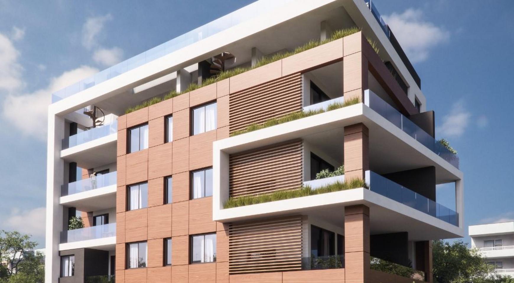 Malibu Residence. Contemporary 2 Bedroom Apartment 201 in Potamos Germasogeia - 8