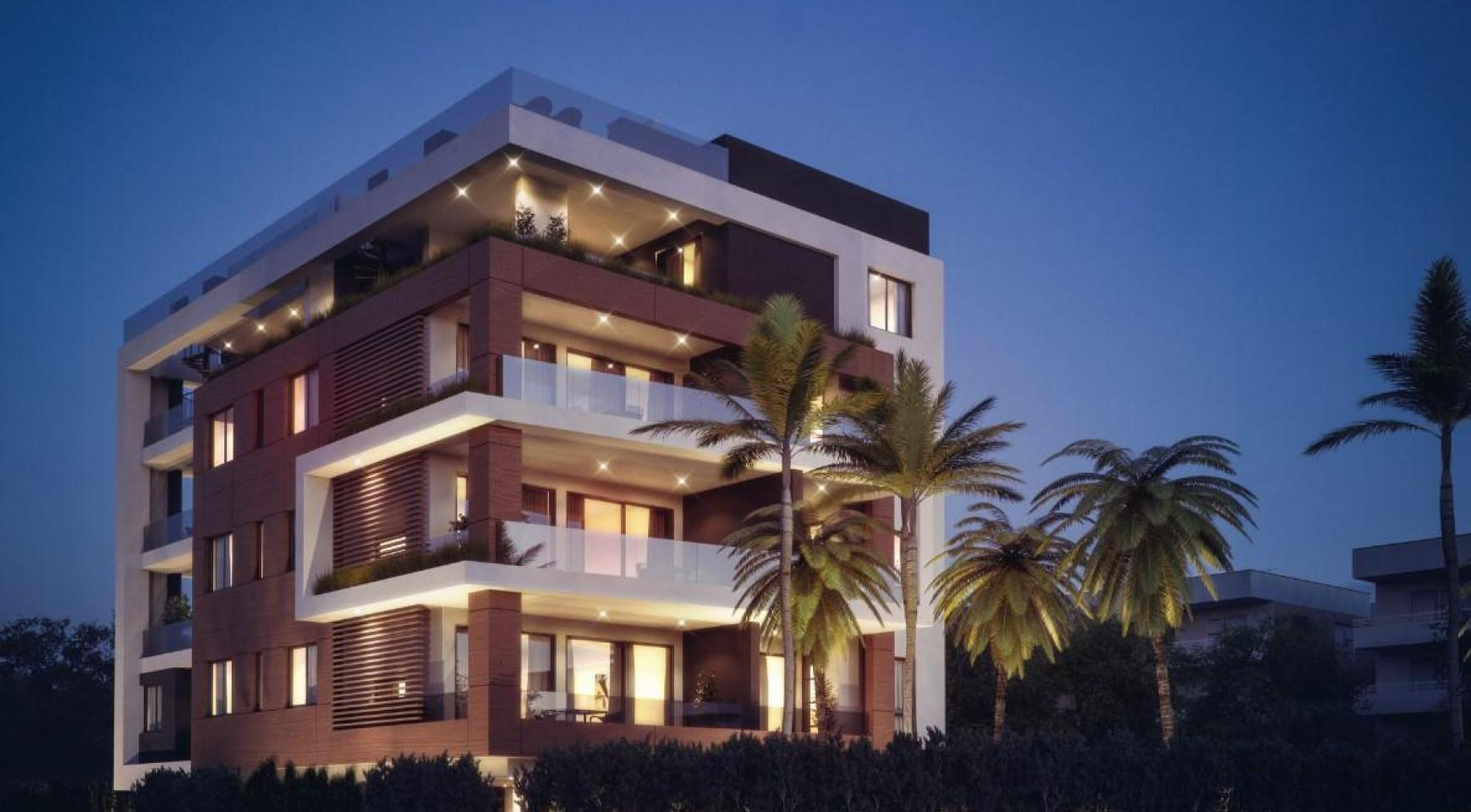Malibu Residence. Contemporary 2 Bedroom Apartment 201 in Potamos Germasogeia - 4