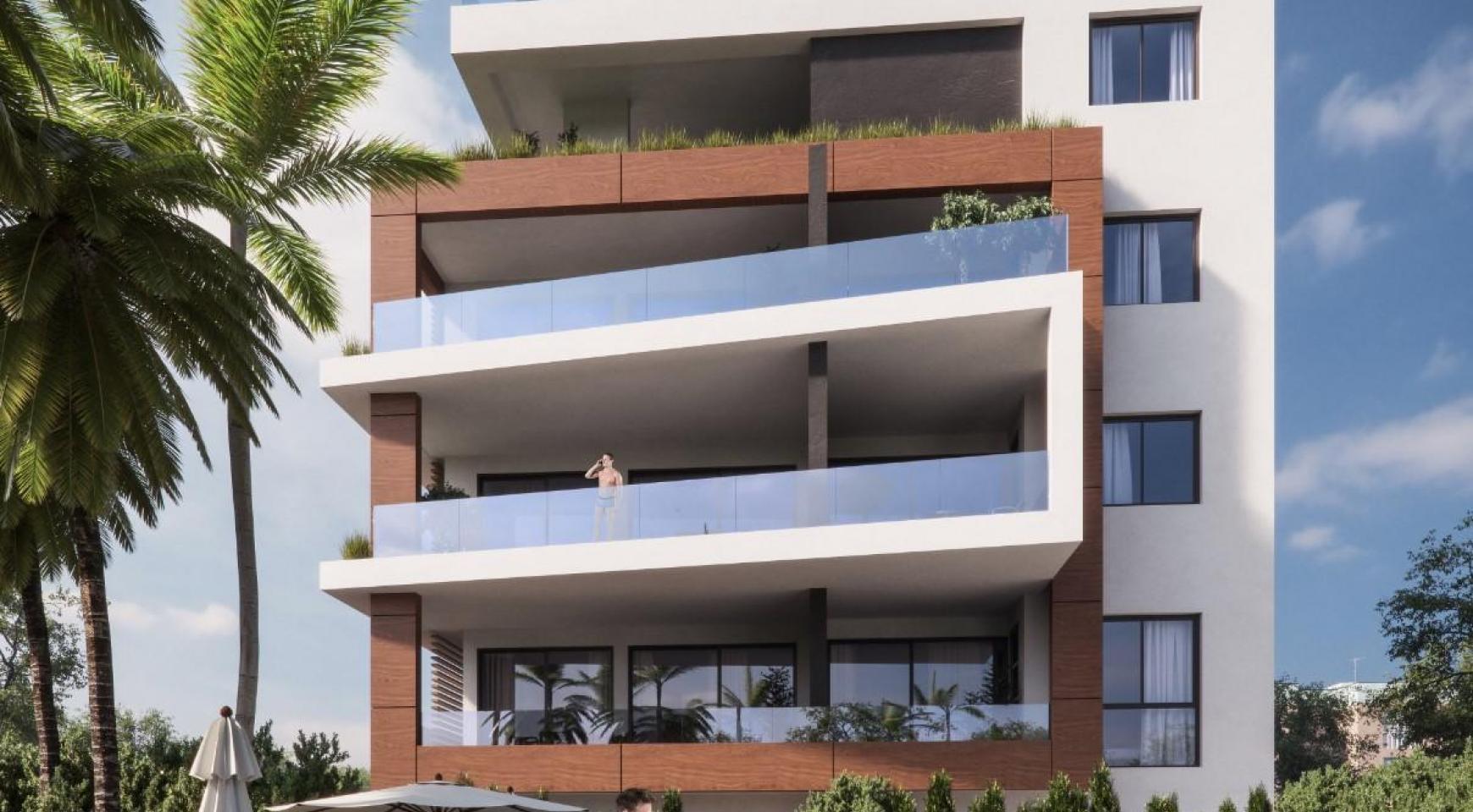 Malibu Residence. Contemporary 2 Bedroom Apartment 201 in Potamos Germasogeia - 6