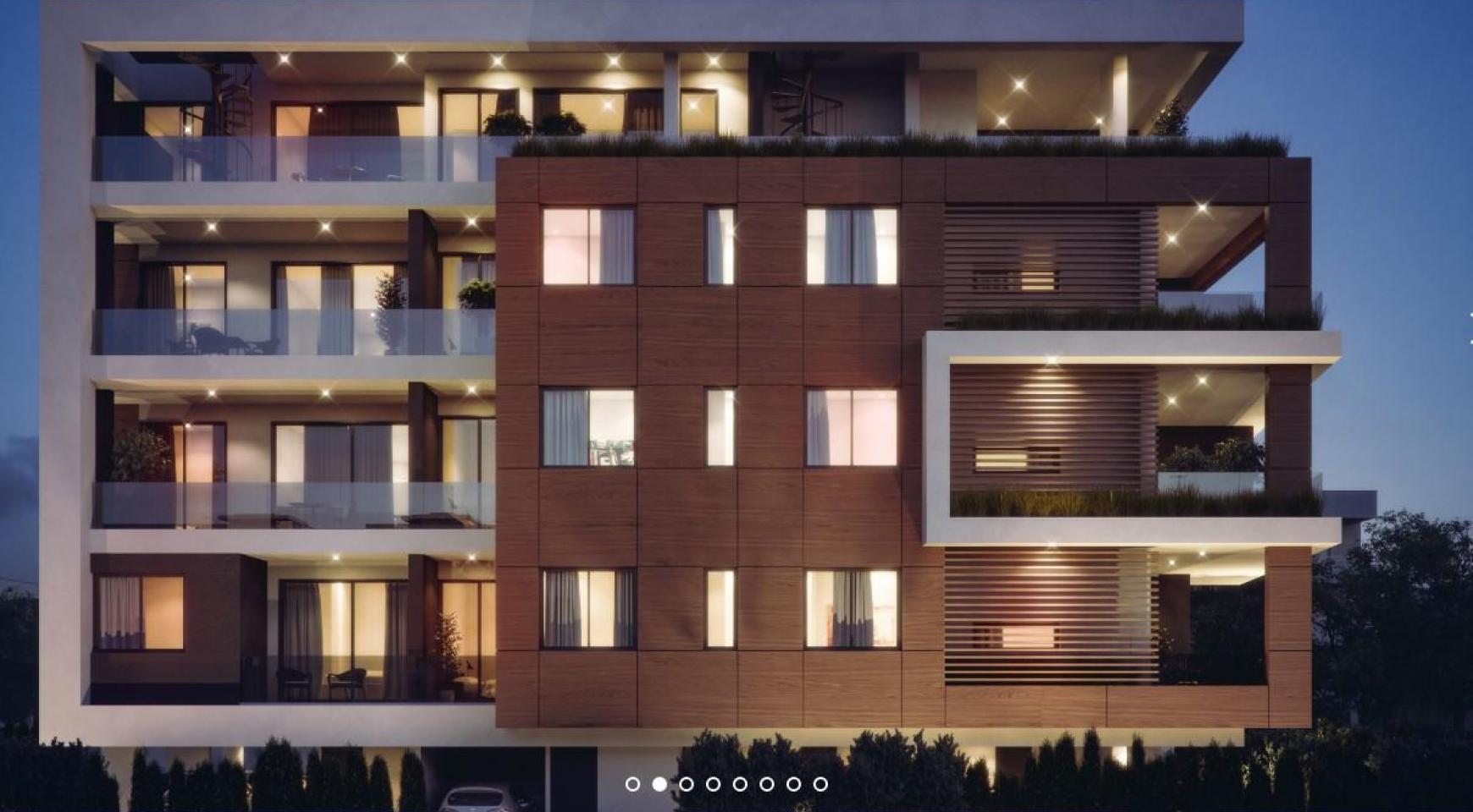 Malibu Residence. Contemporary 2 Bedroom Apartment 201 in Potamos Germasogeia - 2