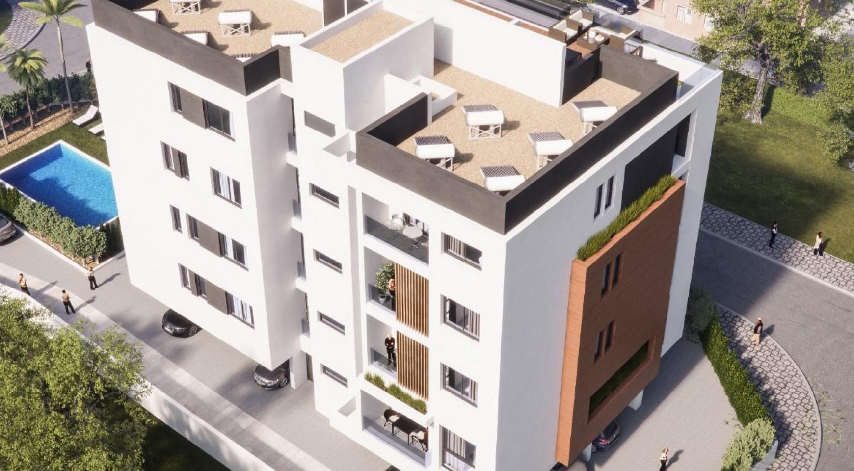Malibu Residence. Contemporary 2 Bedroom Apartment 201 in Potamos Germasogeia - 1