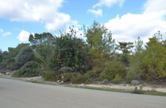 Building Plot with Sea Views in Souni