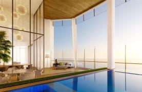 Sky Tower. Μοντέρνο ευρύχωρο διαμέρισμα ενός υπνοδωματίου με θέα στην θάλασσα - 9