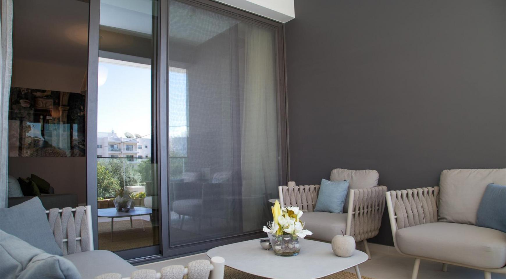 Malibu Residence. Πολυτελές ρετιρέ 3 υπνοδωματίων  402 με ιδιωτική πισίνα - 25