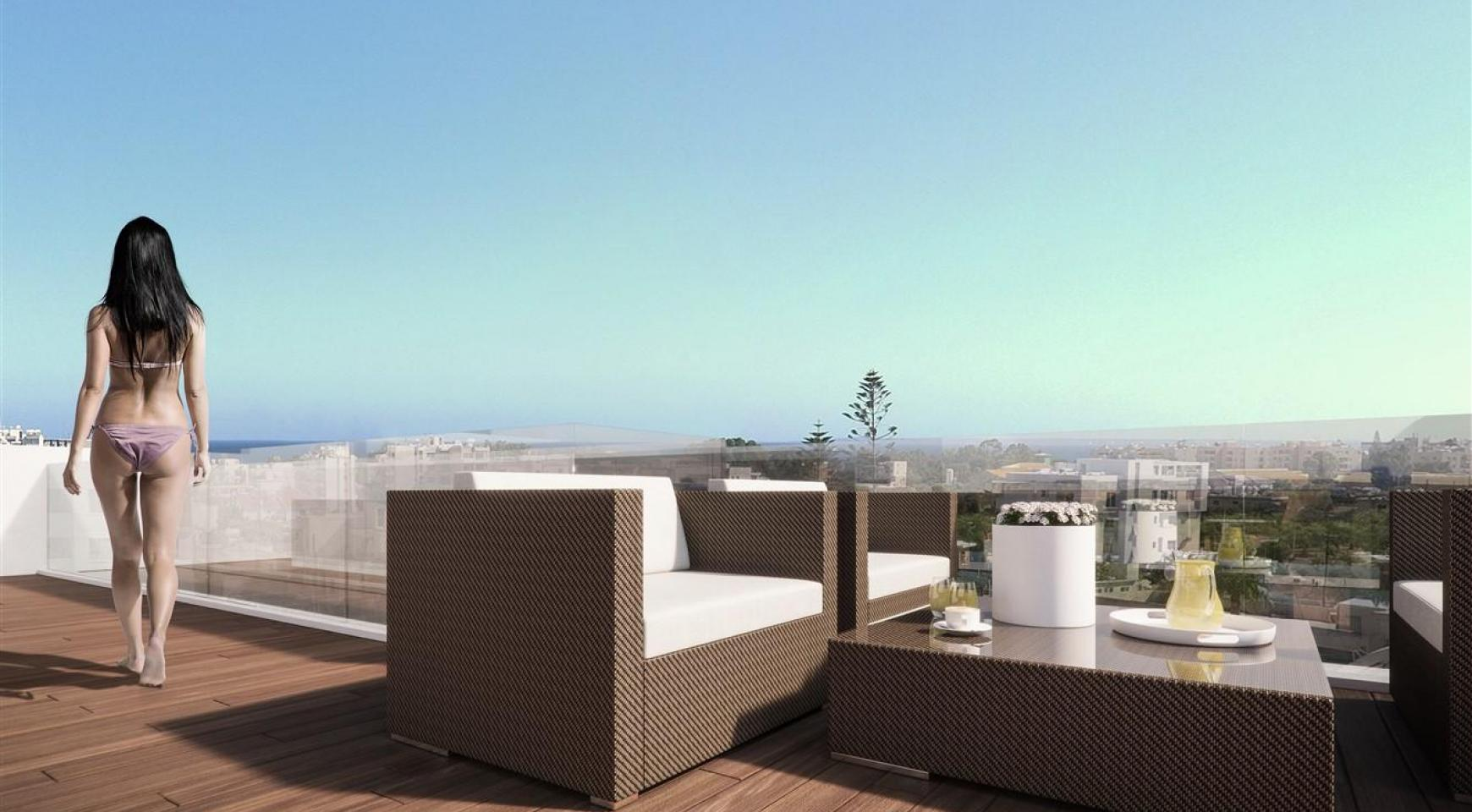 Malibu Residences. Luxury 3 Bedroom Penthouse with Private Swimming Pool - 8