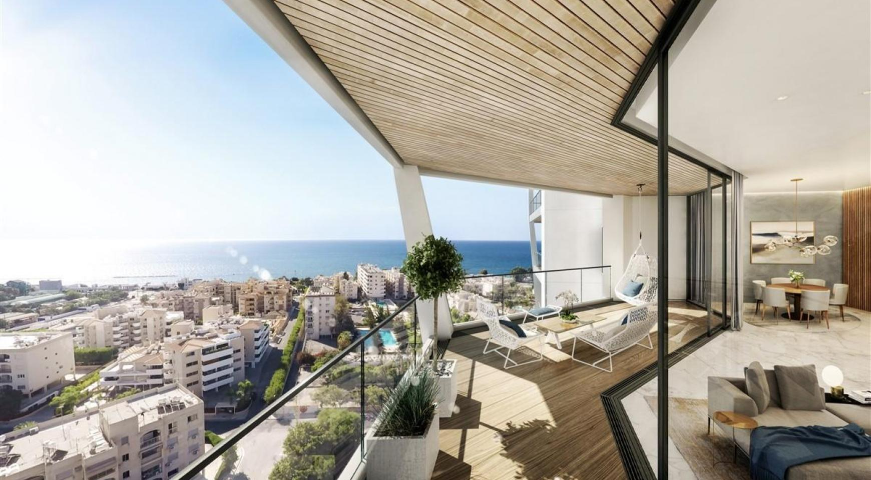 Sky Tower. Luxury 2 Bedroom Apartment with Amazing Sea views - 6