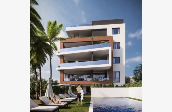Malibu Residence. Modern One Bedroom Apartment 102 in the Tourist Area