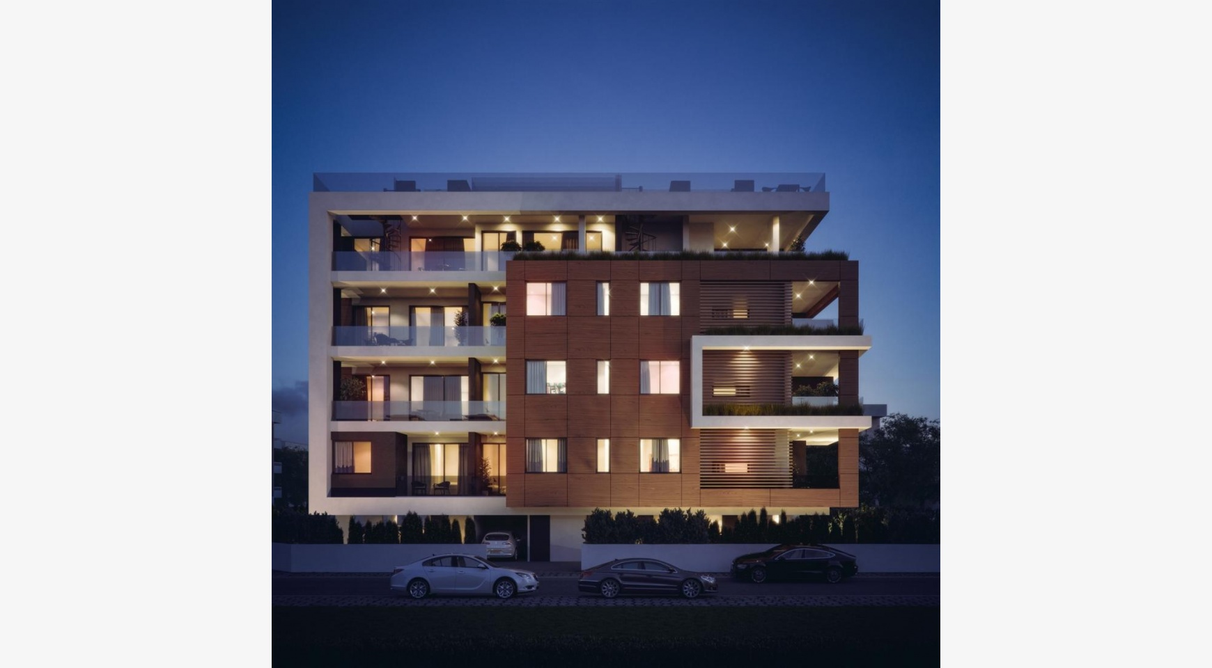 Malibu Residence. New Modern 3 Bedroom Apartment 202 in a Luxury Complex - 2