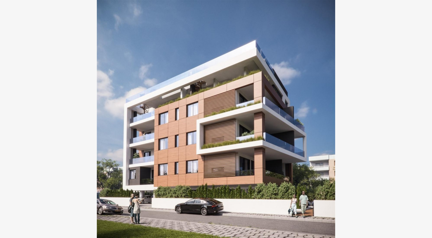 Malibu Residence. New Modern 3 Bedroom Apartment 202 in a Luxury Complex - 4