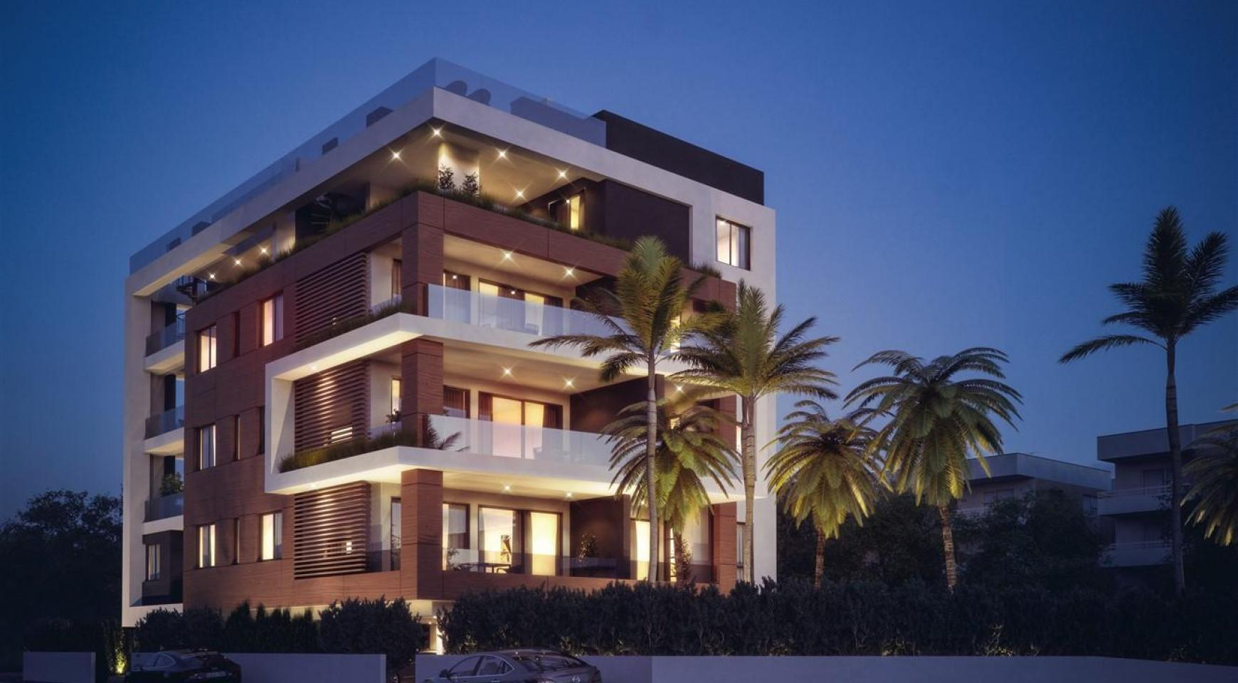 Malibu Residence. New Modern 3 Bedroom Apartment 202 in a Luxury Complex - 8