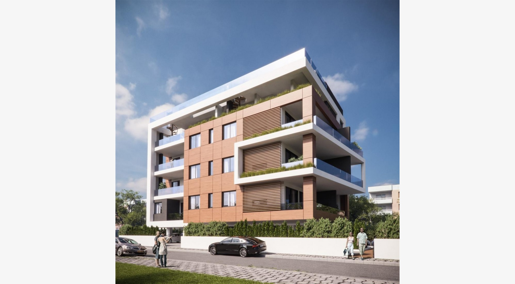 Malibu Residence. New Modern 3 Bedroom Apartment 302 in Potamos Germasogeia - 7