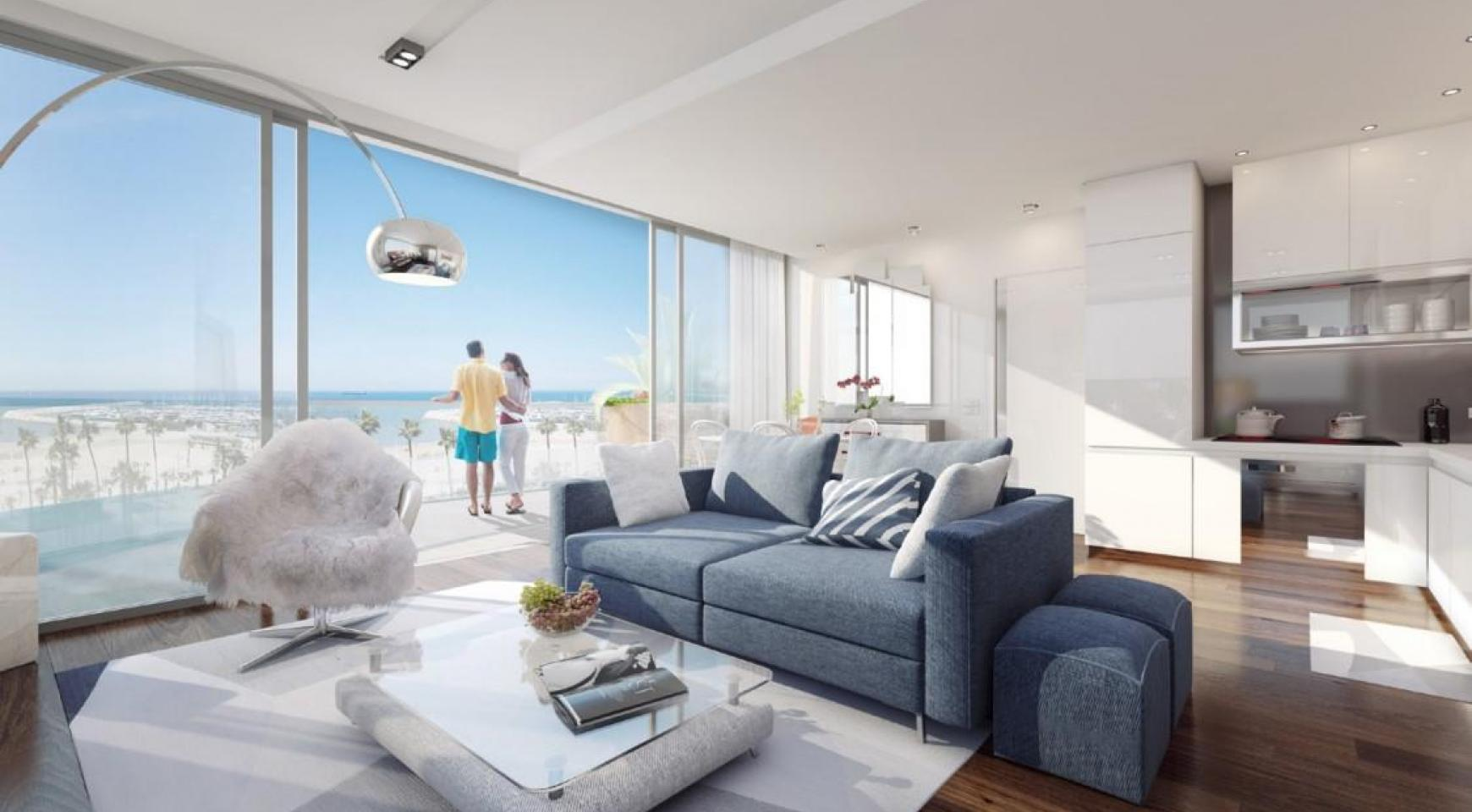 New 3 Bedroom Apartment near the Sea - 7