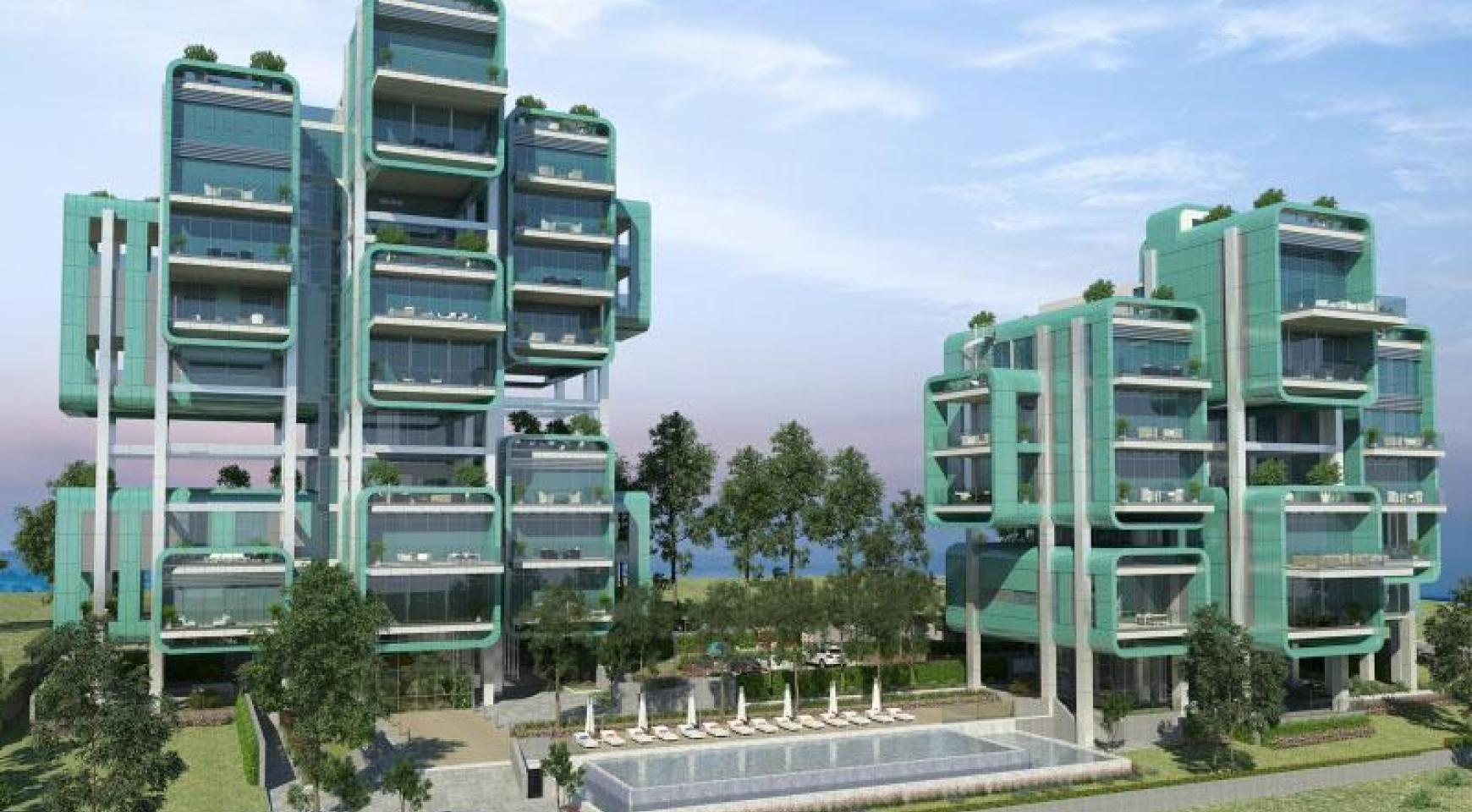 Luxurious 3 Bedroom Apartment within a New Complex near the Sea - 24