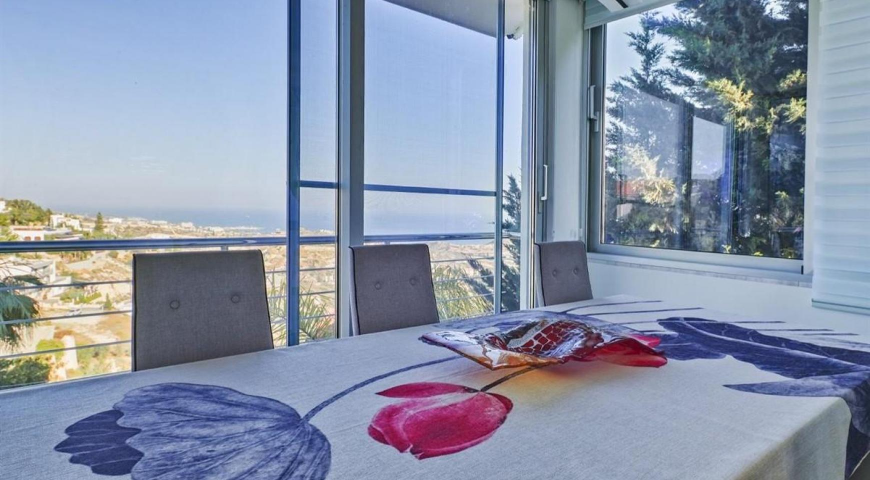 Elite 5 Bedroom Villa with Amazing Sea and Mountain Views in Agios Tychonas Area  - 13