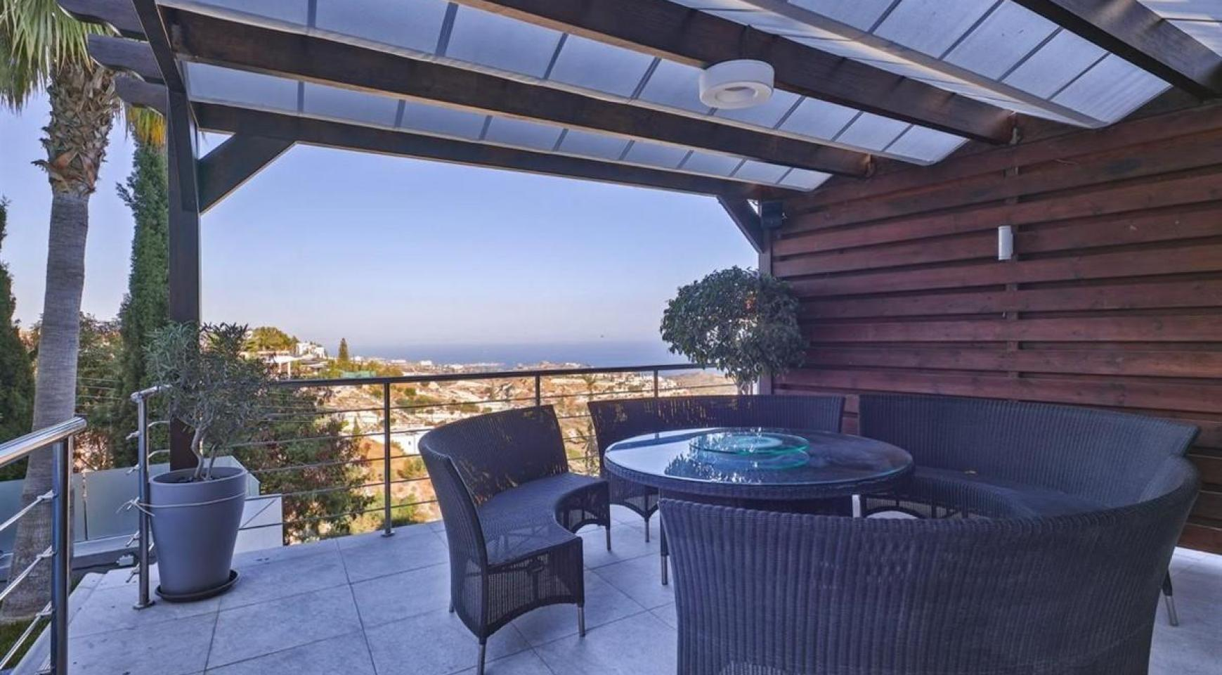 Elite 5 Bedroom Villa with Amazing Sea and Mountain Views in Agios Tychonas Area  - 5