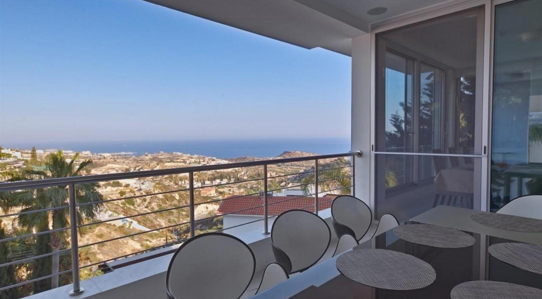 Elite 5 Bedroom Villa with Amazing Sea and Mountain Views in Agios Tychonas Area  - 4