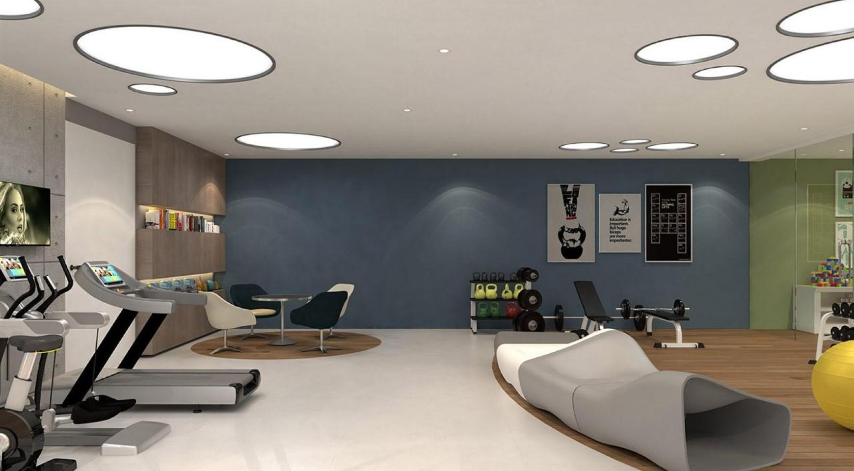 Modern 2 Bedroom Apartment in a New Complex near the Sea - 12