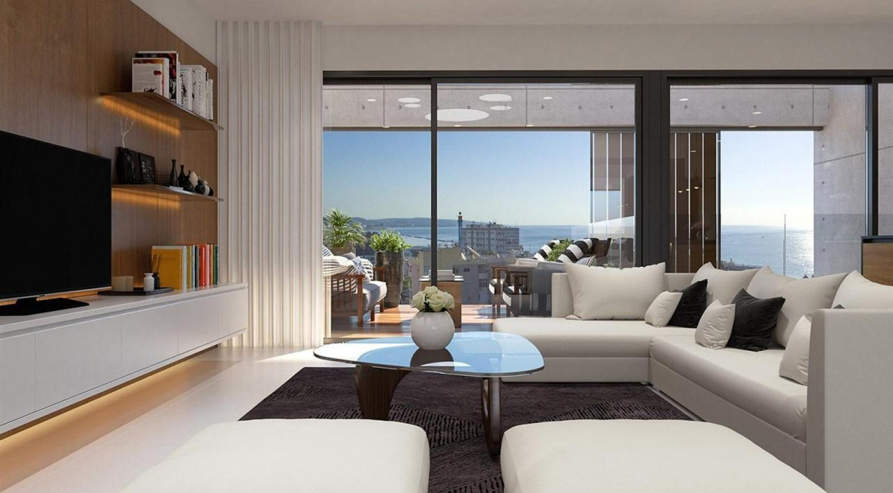 Modern 2 Bedroom Apartment in a New Complex near the Sea - 7