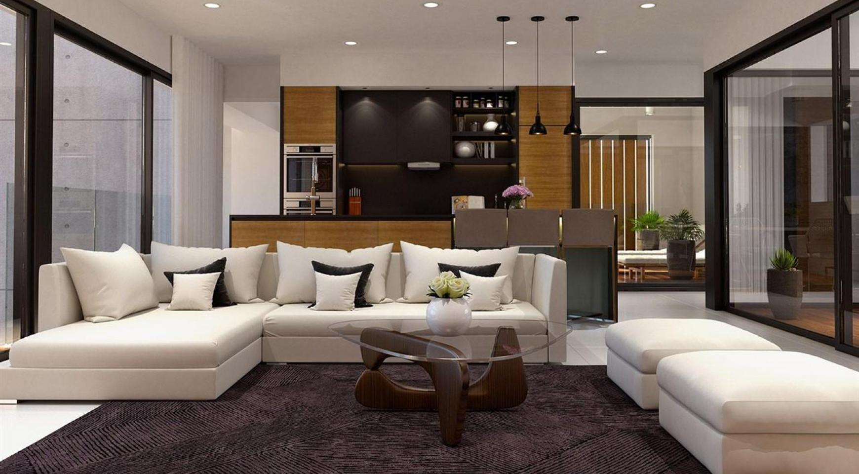 Modern 3 Bedroom Apartment in a New Complex near the Sea - 9