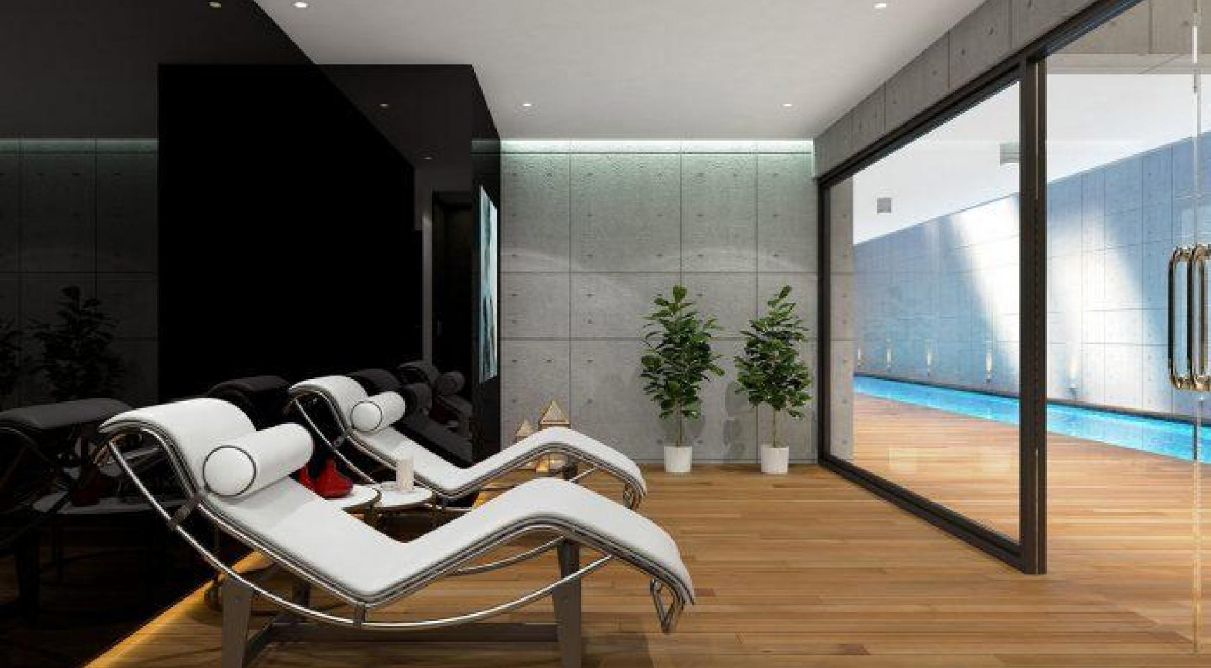 Modern 3 Bedroom Apartment in a New Complex near the Sea - 23