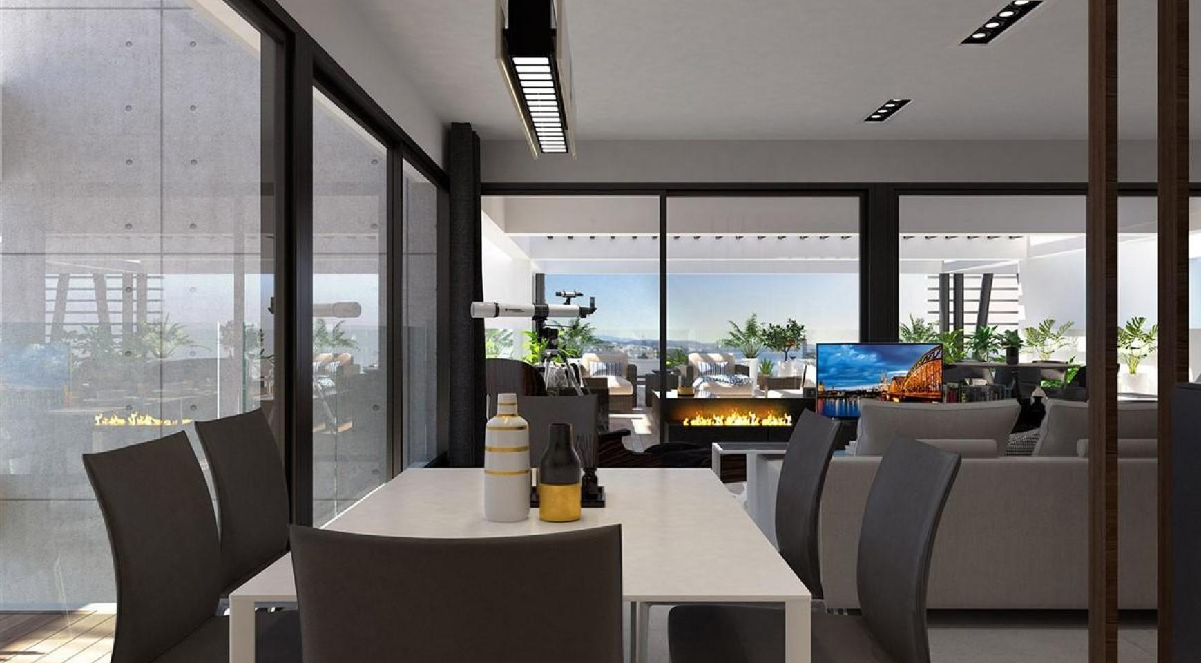Modern 3 Bedroom Penthouse in a New Complex near the Sea - 7
