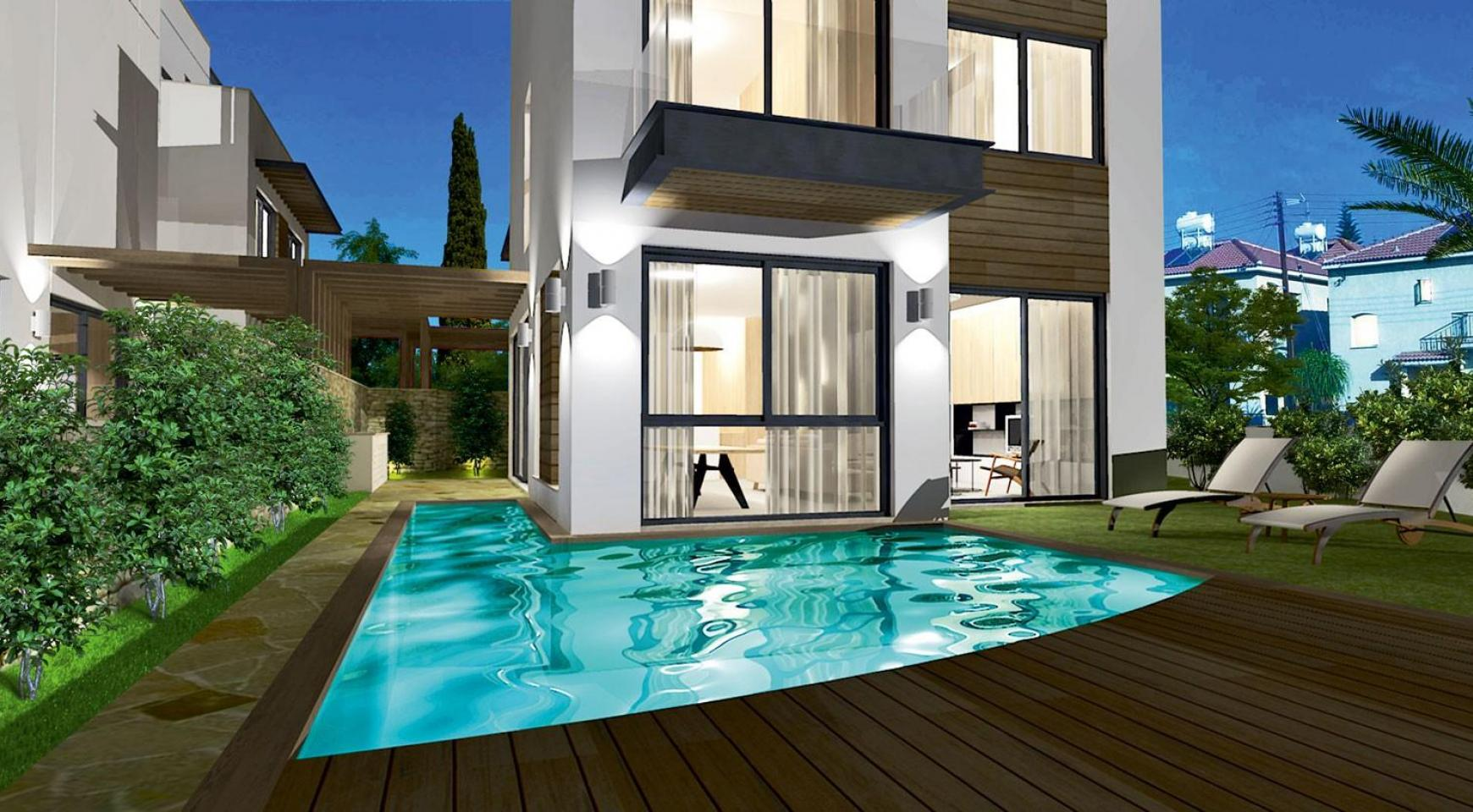 Spacious 4 Bedroom Villa in a New Complex in Agios Athanasios - 5