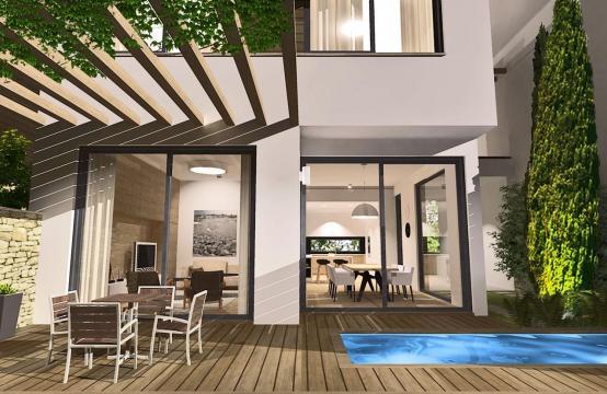 Spacious 4 Bedroom Villa in a New Complex in Agios Athanasios Area
