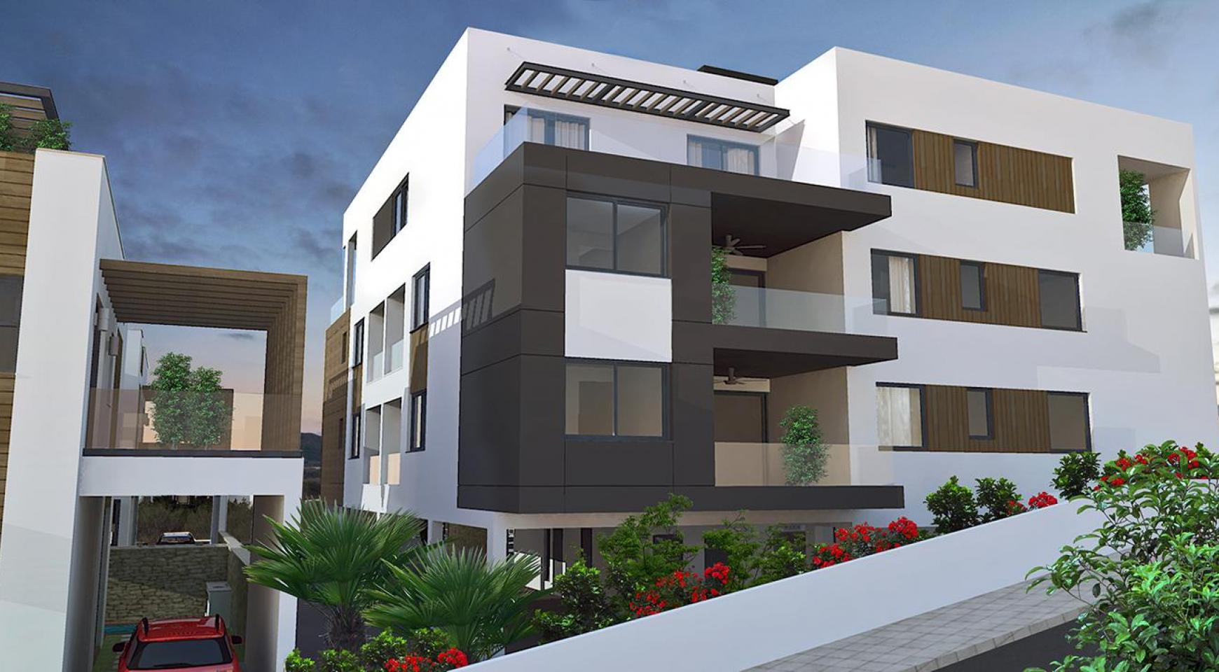 Contemporary 2 Bedroom Apartment in a New Complex in Agios Athanasios  - 11