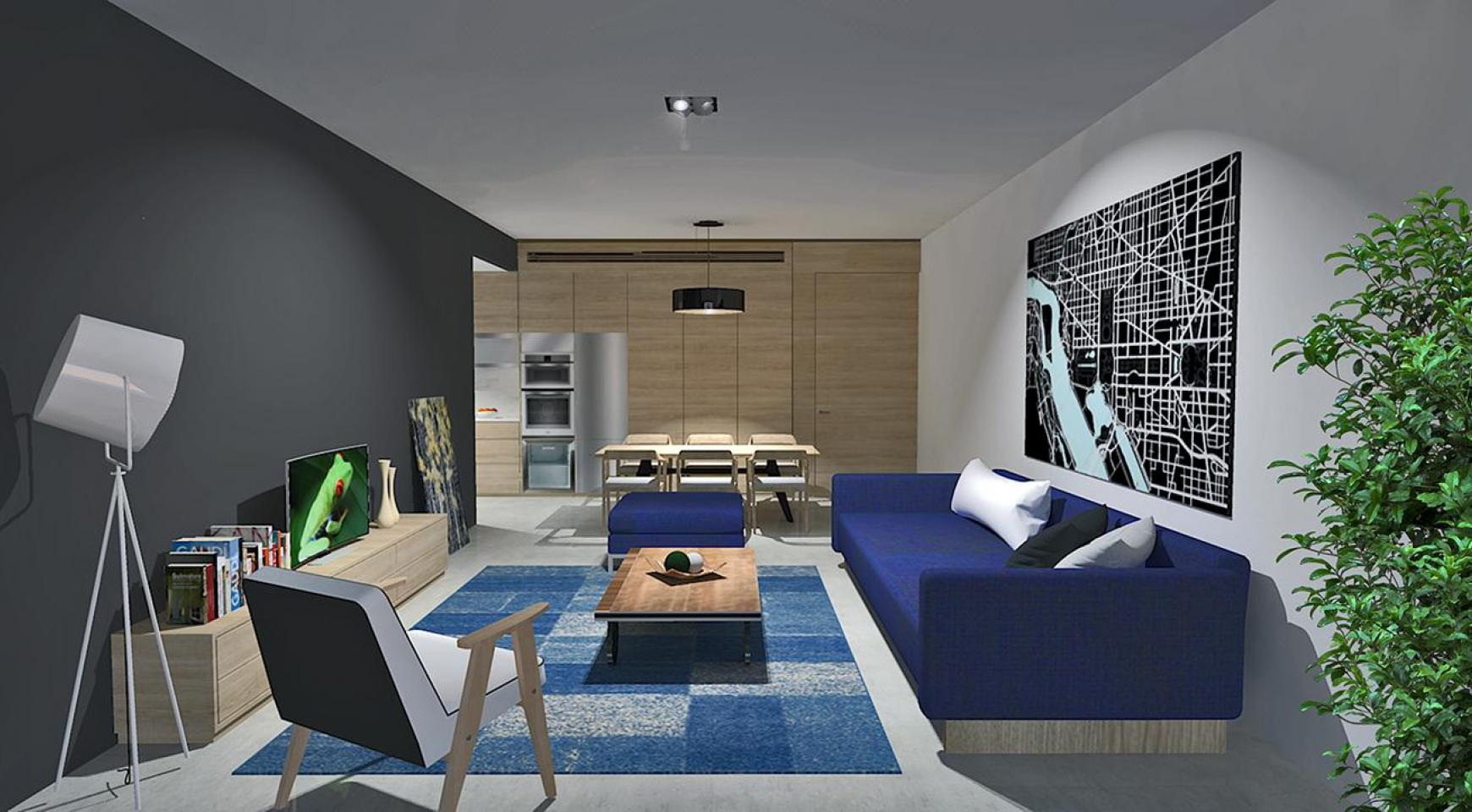 Contemporary 2 Bedroom Apartment in a New Complex in Agios Athanasios  - 1