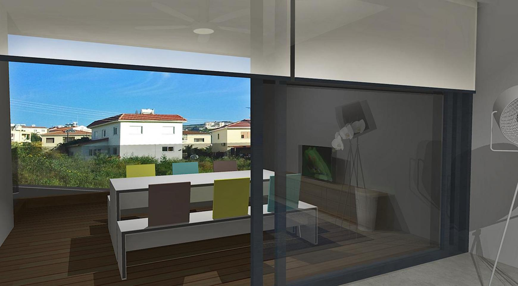Contemporary 2 Bedroom Apartment in a New Complex in Agios Athanasios  - 3