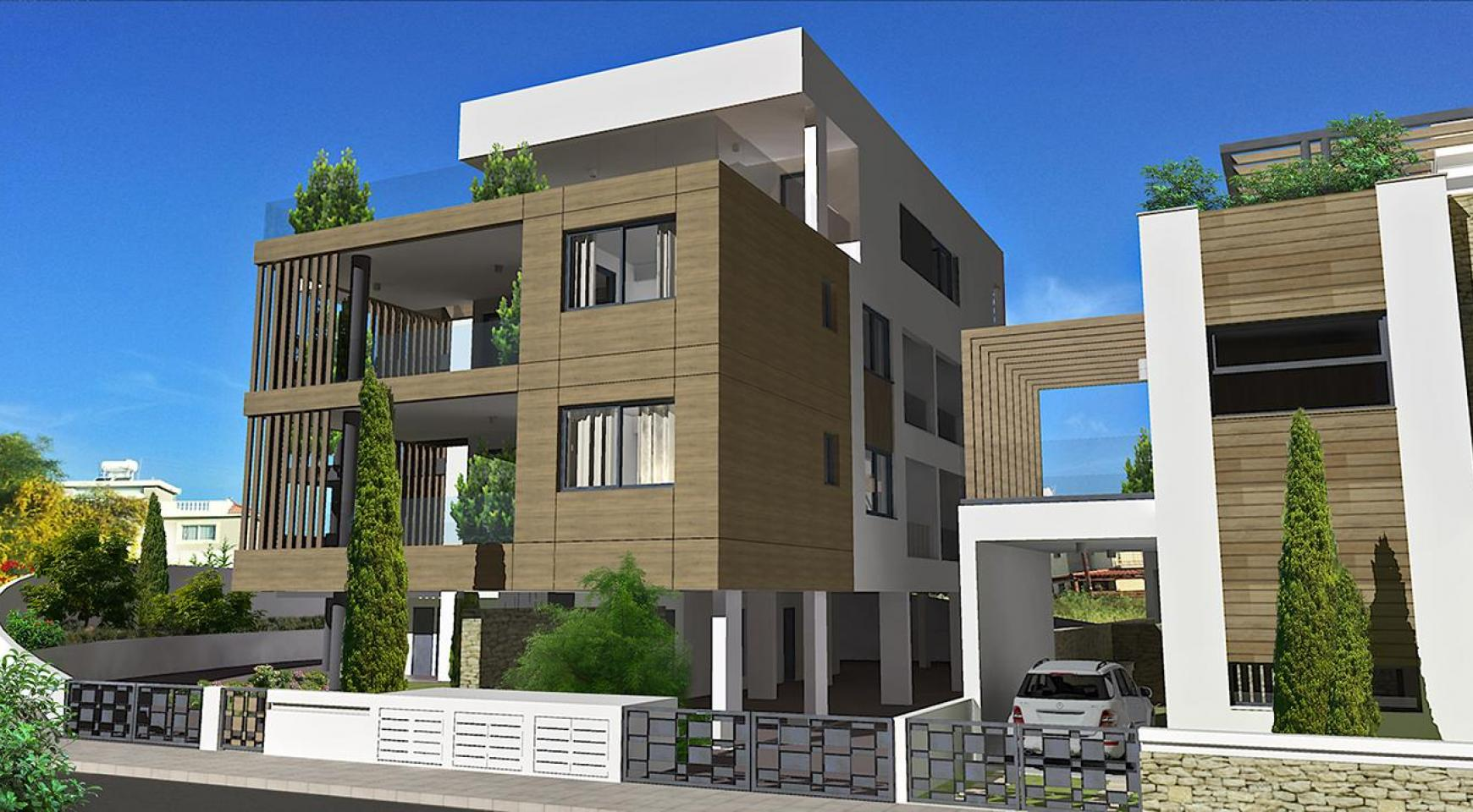 Contemporary 2 Bedroom Apartment in a New Complex in Agios Athanasios  - 14