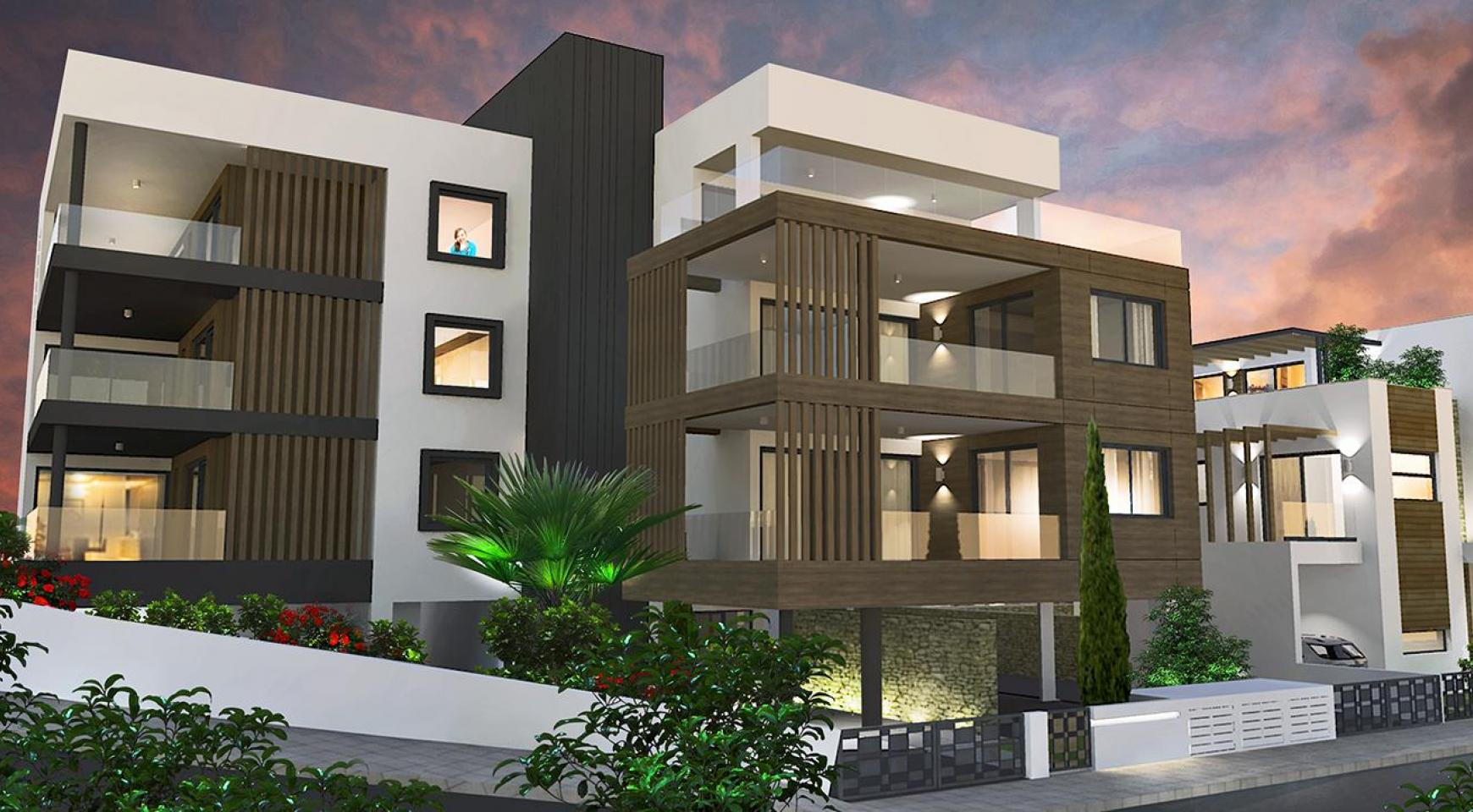 Modern 3 Bedroom Apartment in a New Complex in Agios Athanasios - 17