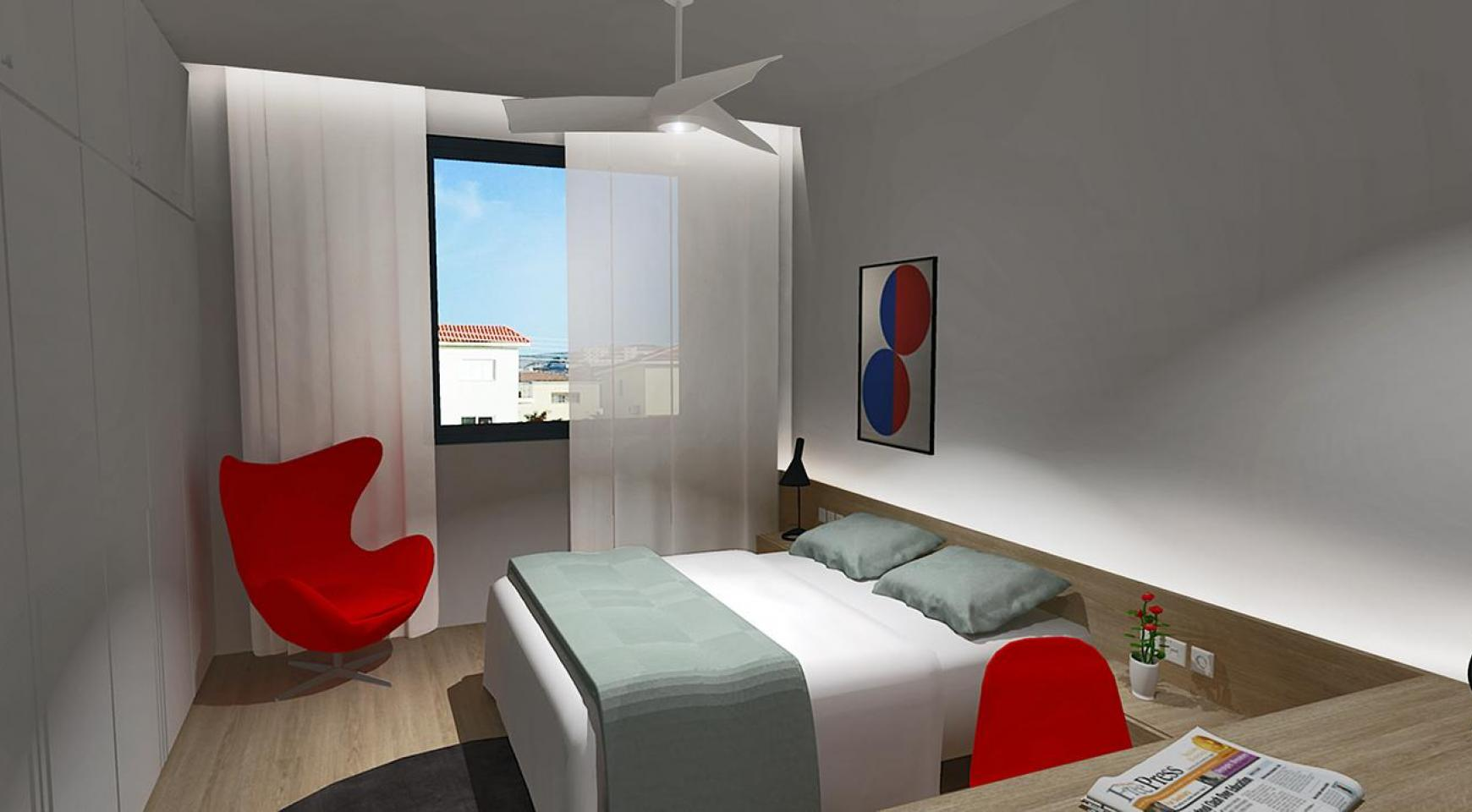 Modern 3 Bedroom Apartment in a New Complex in Agios Athanasios - 9