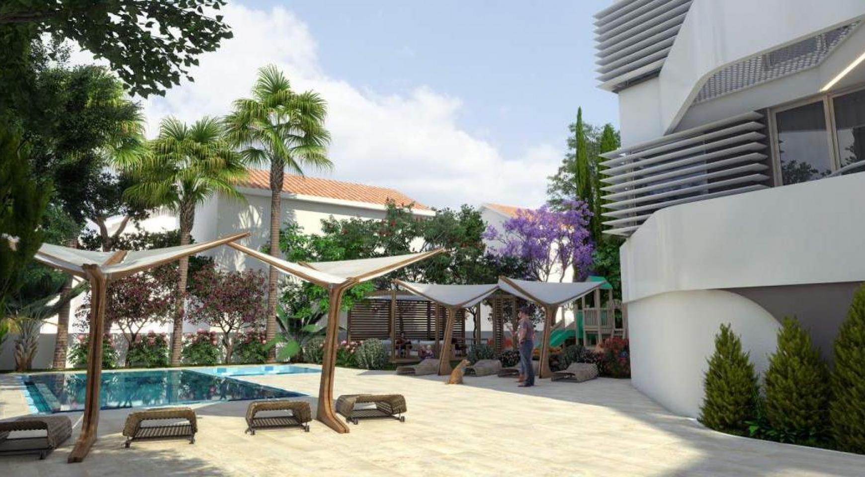 New 3 Bedroom Apartment in a Contemporary Complex near the Sea - 14