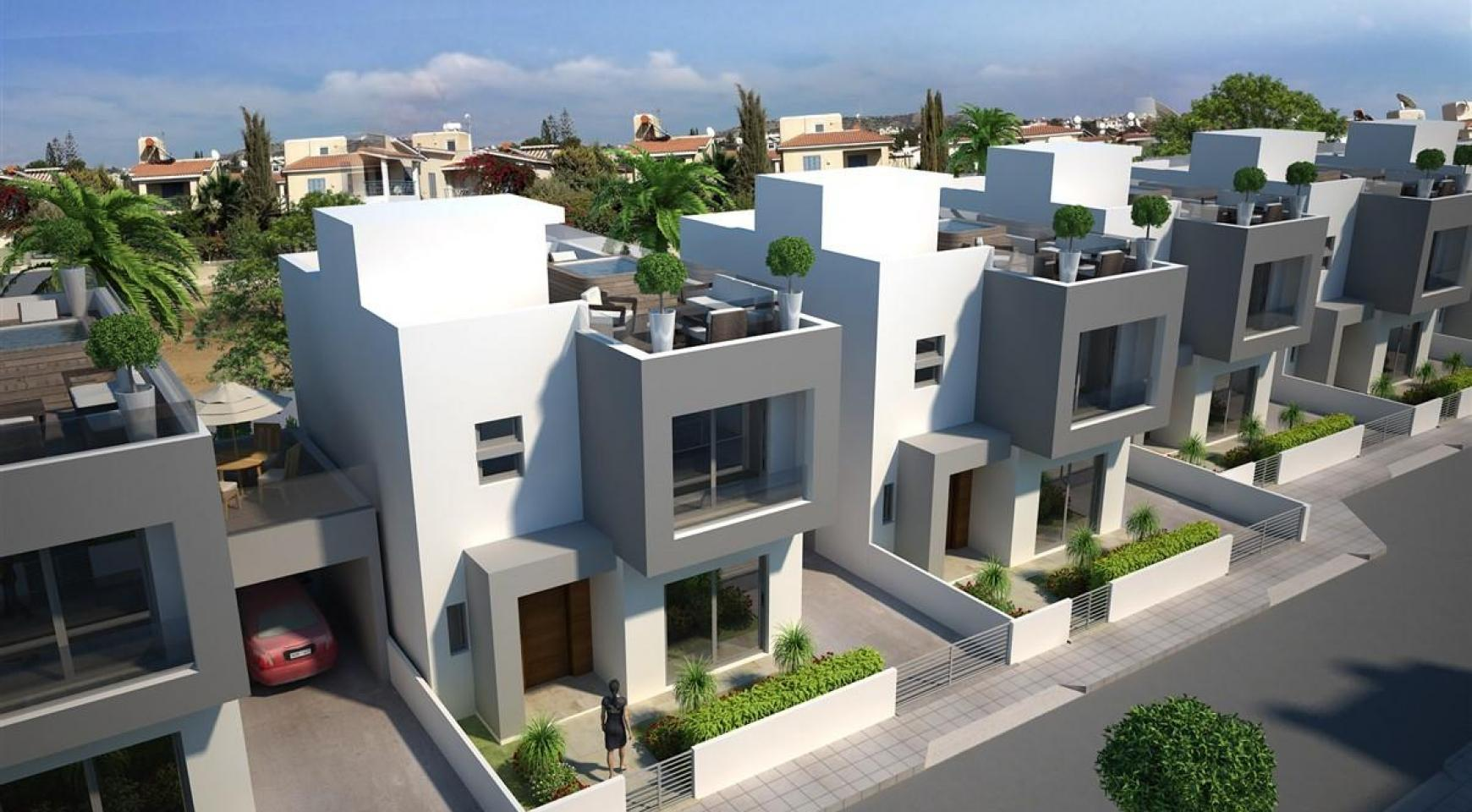 Modern 3 Bedroom Villa in New Project in Paphos - 28