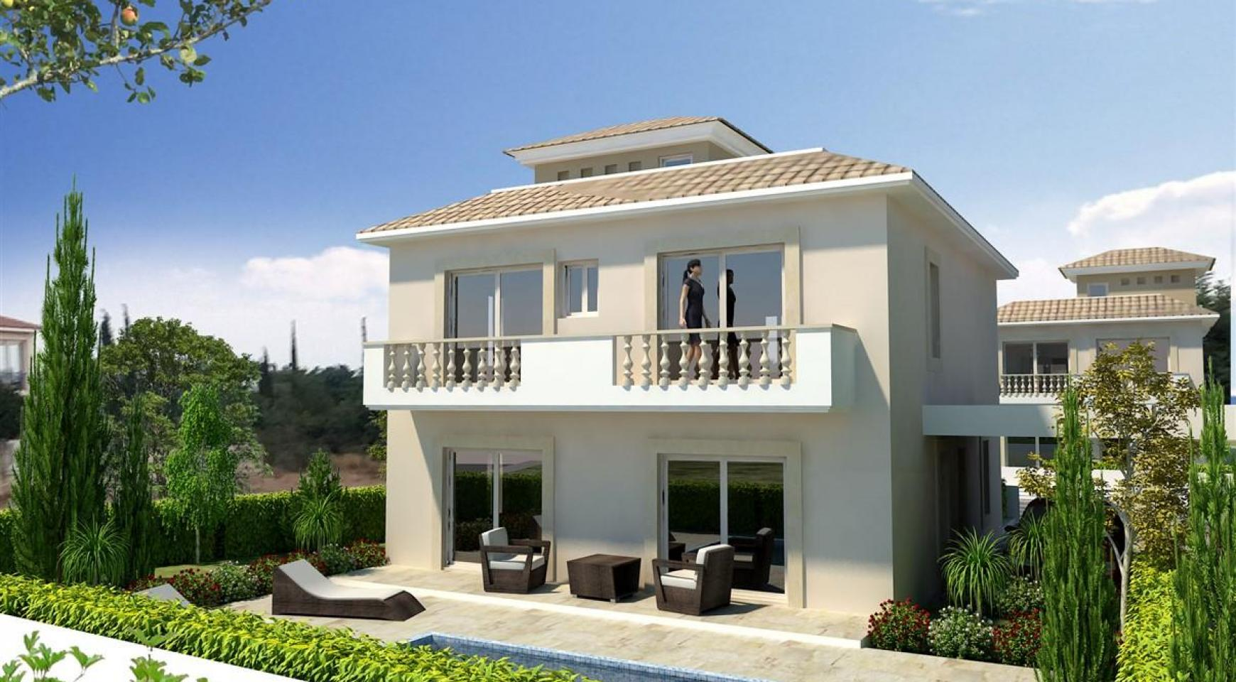 3 Bedroom Villa in New Project in Paphos - 9