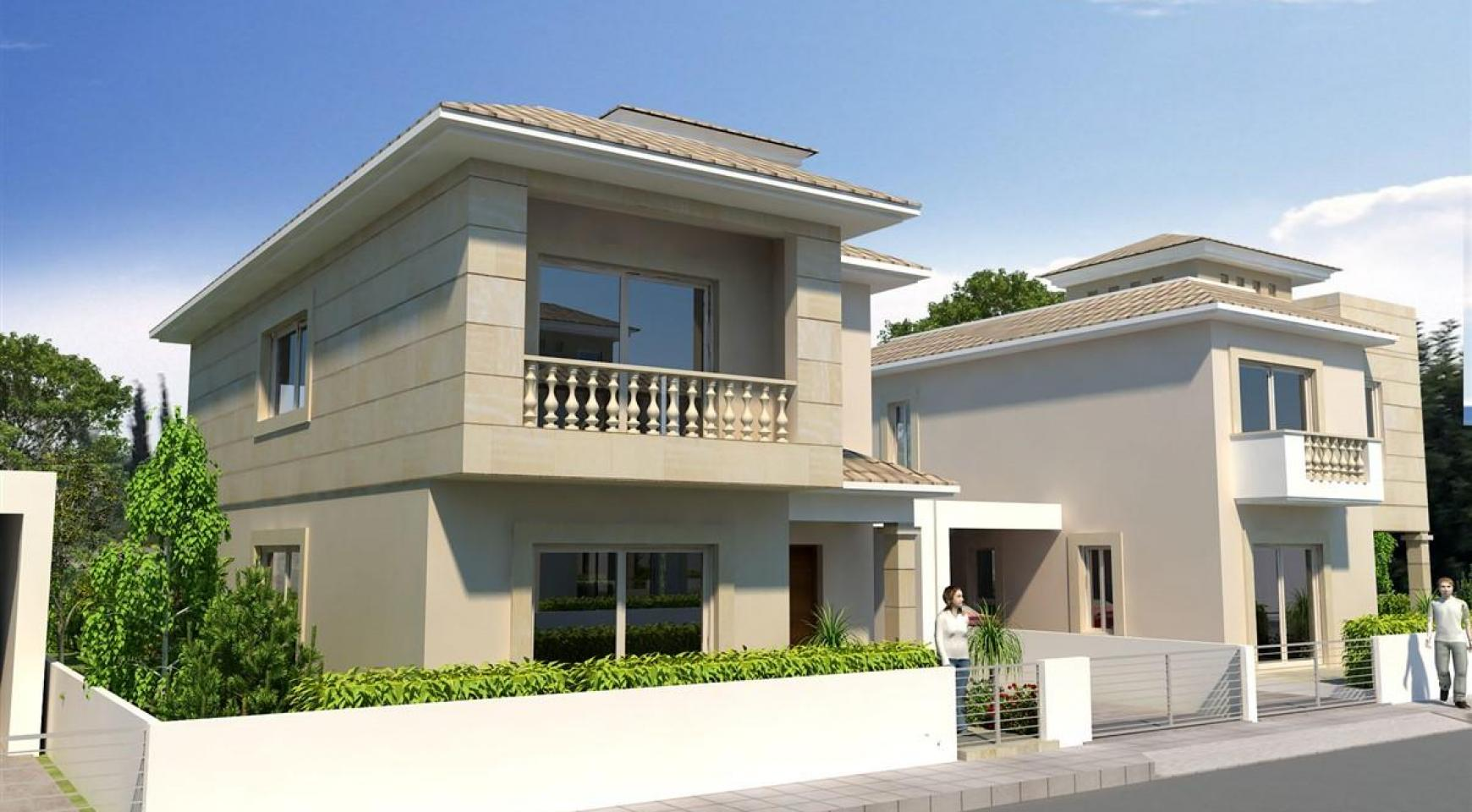 3 Bedroom Villa in New Project in Paphos - 8