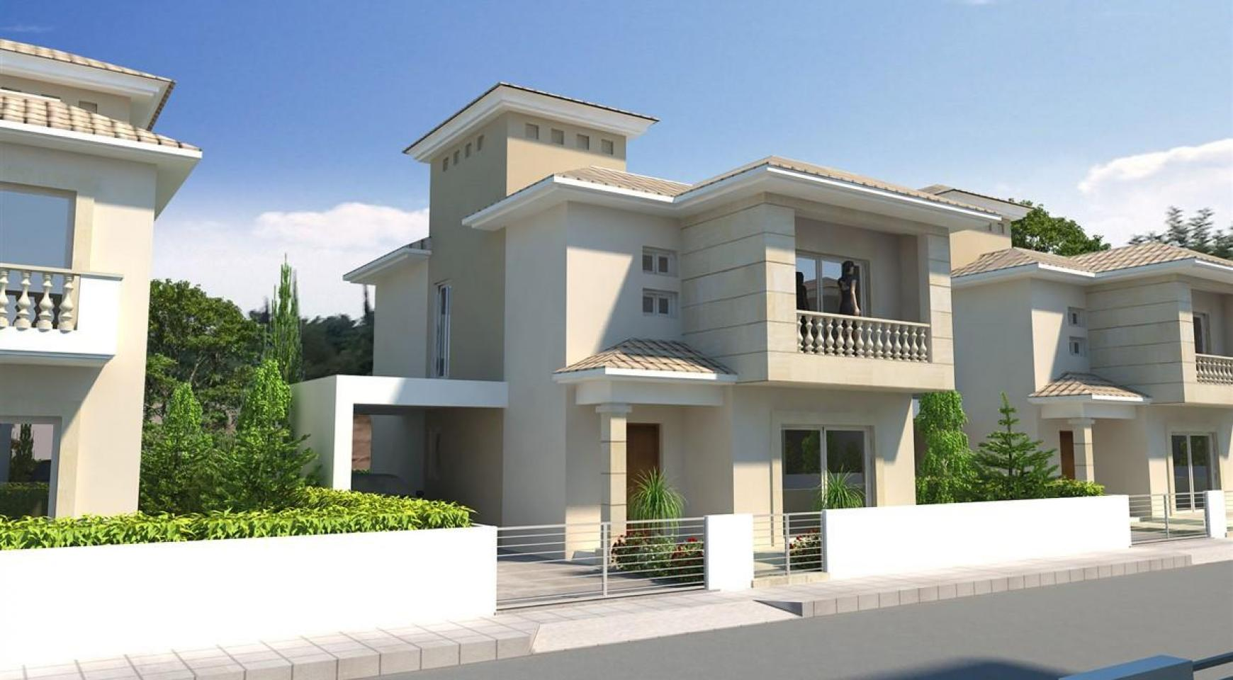 Modern 3 Bedroom Villa in New Project in Paphos - 3