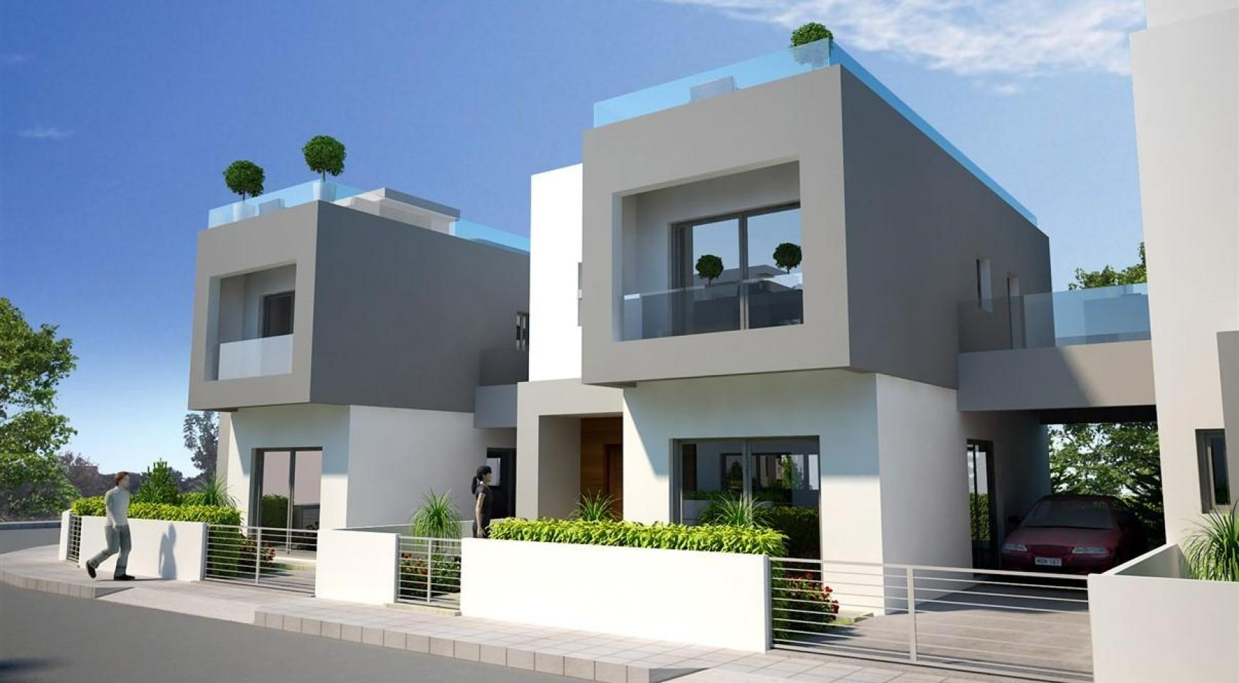 Modern 3 Bedroom Villa in New Project in Paphos - 34